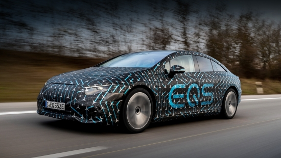 Обнародованы характеристики лифтбека Mercedes-Benz EQS